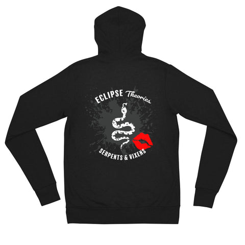 SERPENTS Womans Zip Up Hoodie