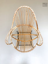Afbeelding in Gallery-weergave laden, Vintage - Rotan lounge set