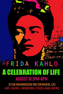 Celebrating Frida Kahlo in Denver