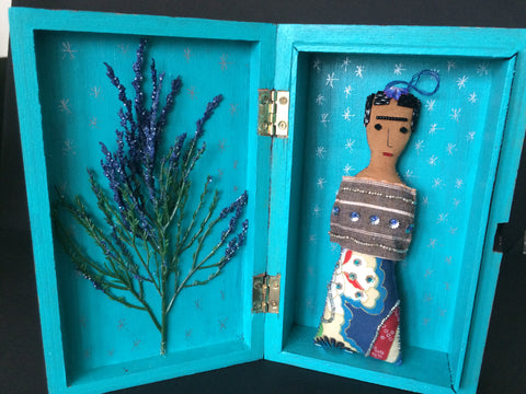 Picture of Frida Kahlo Shrine Box by Snapdragon
