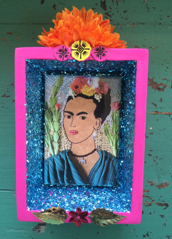 Frida Kahlo Shrine by Snapdragon