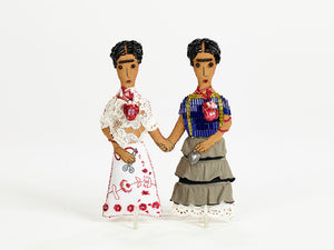 Small Two Fridas Doll Set