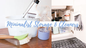 Minimalist Cleaning Supplies - Eco Cleaning & Storage: I have had so many of my subscribers request to see how I store my cleaning supplies