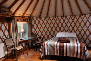 From Camp to Glamp: Washington's Top Yurt Camping Spots