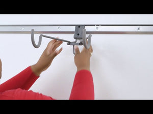 Utility Horizontal Bike Hook