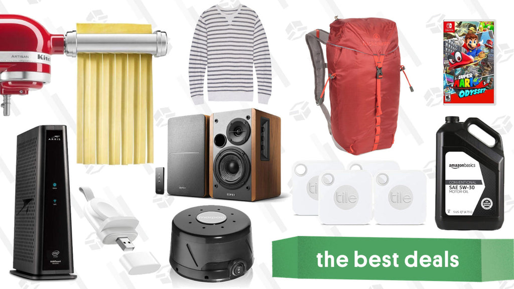 Tuesday's Best Deals: Edifier Speakers, Super Mario Odyssey, Backcountry Gear, and More
