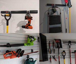 I get asked a lot about which garage storage system I use in my home