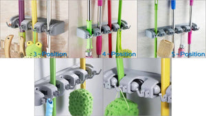 Where can i buy B017W2AYRW/?tag=iphonecooo-20 Wall Mounted Broom Holder, MCIRCO Mop Organizer Broom Hanger Mop and Broom Holder, 3 Position ...