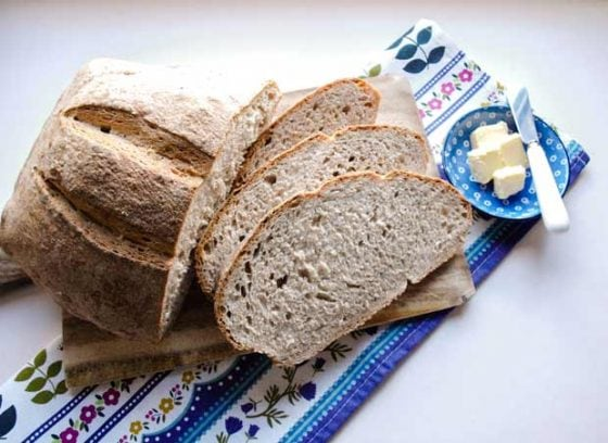 Easy Sourdough Bread (Bread Machine)