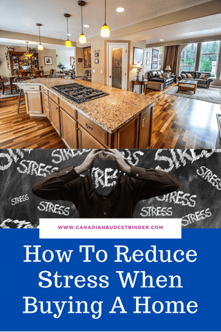 Finding ways to reduce stress when heading into the real estate market will ease the buying proce