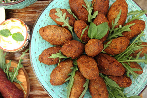 Homemade kibbeh and other Lebanese recipes