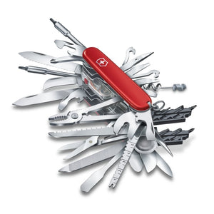 'Champ XXL' Swiss Army Knife Packs 61 Tools in Your Pocket
