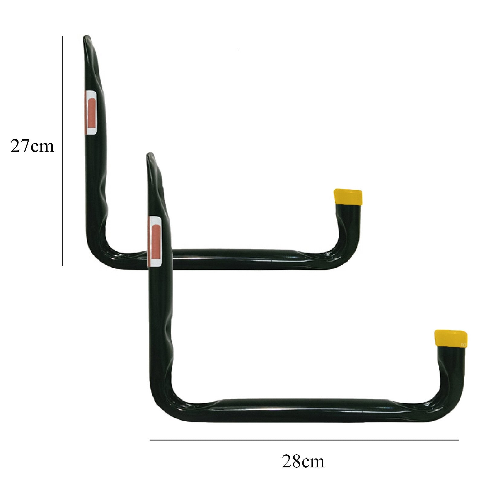 2 x Large 60kg Heavy Duty Storage Hooks Wall Mounted Utility Hook