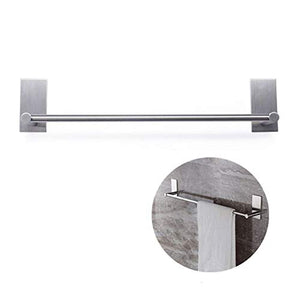 BeiLan Single Towel Bar Rack Stainless Steel Kitchen Rail Self Adhesive Stainless Steel Rack 15.7'' (Towel Bar)