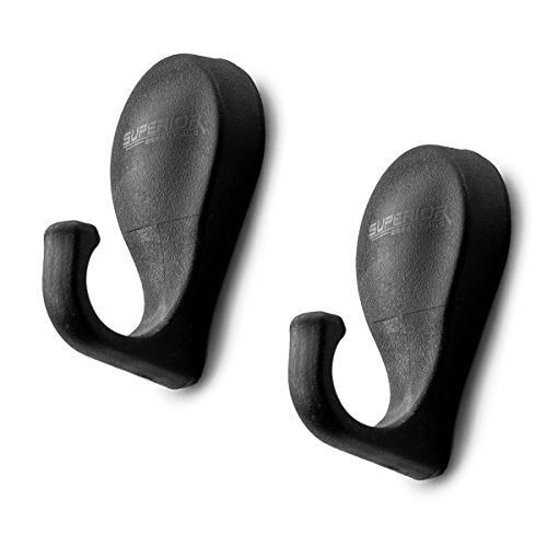Superior Essentials Magnetized Tool Hooks for Grill-Fridge-Cabinet (Set of 2)