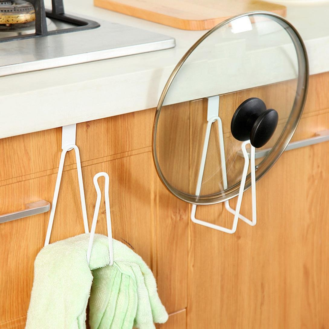 YJYDADA KitchenStorage Rack Cupboard Hanging Hook Hanger Chest Storage Organizer Holder