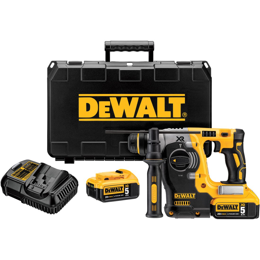 "DeWalt DCH273P2 20V MAX Lithium-Ion Brushless SDS 3 Mode 1"" Rotary Hammer Kit"