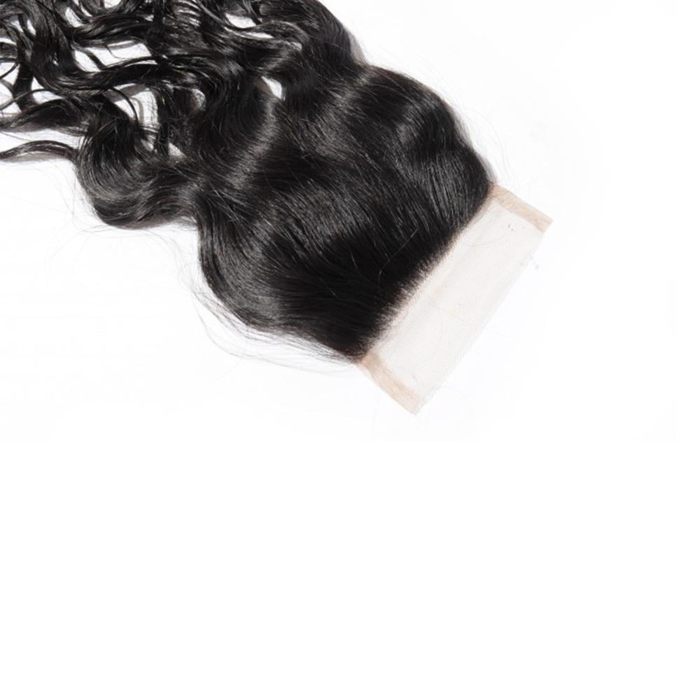 Natural Wavy Swiss Lace Closure