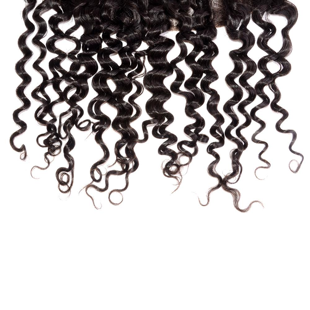 Water Wavy Swiss Lace Frontal