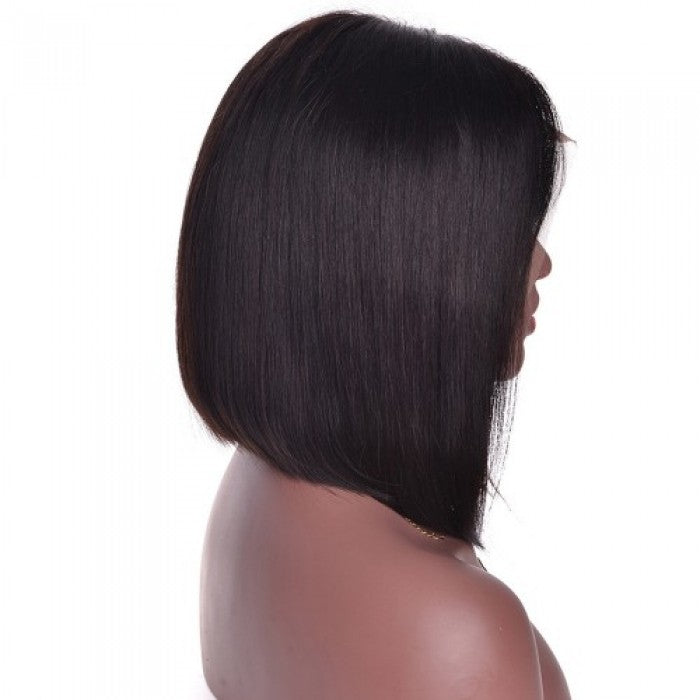 Frontal Lace Wig 150% Density Straight Virgin Hair