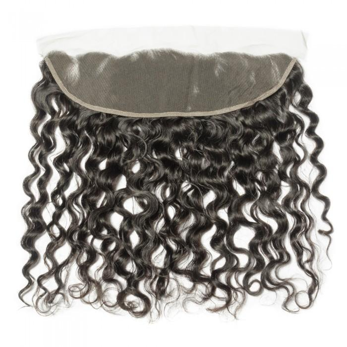 Natural Wavy Swiss Lace Frontal