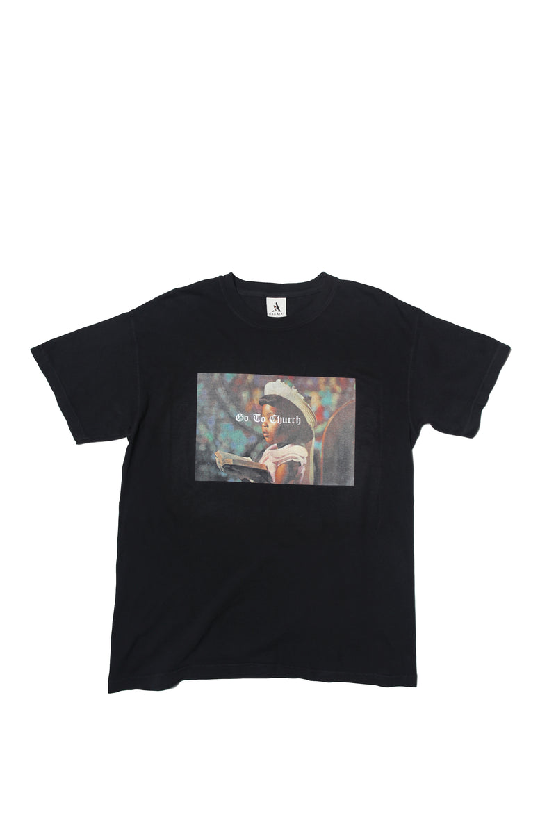 TEE - GO TO CHURCH | BLACK