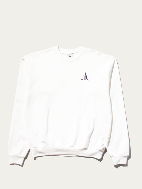 CREWNECK SWEATSHIRT | CREAM