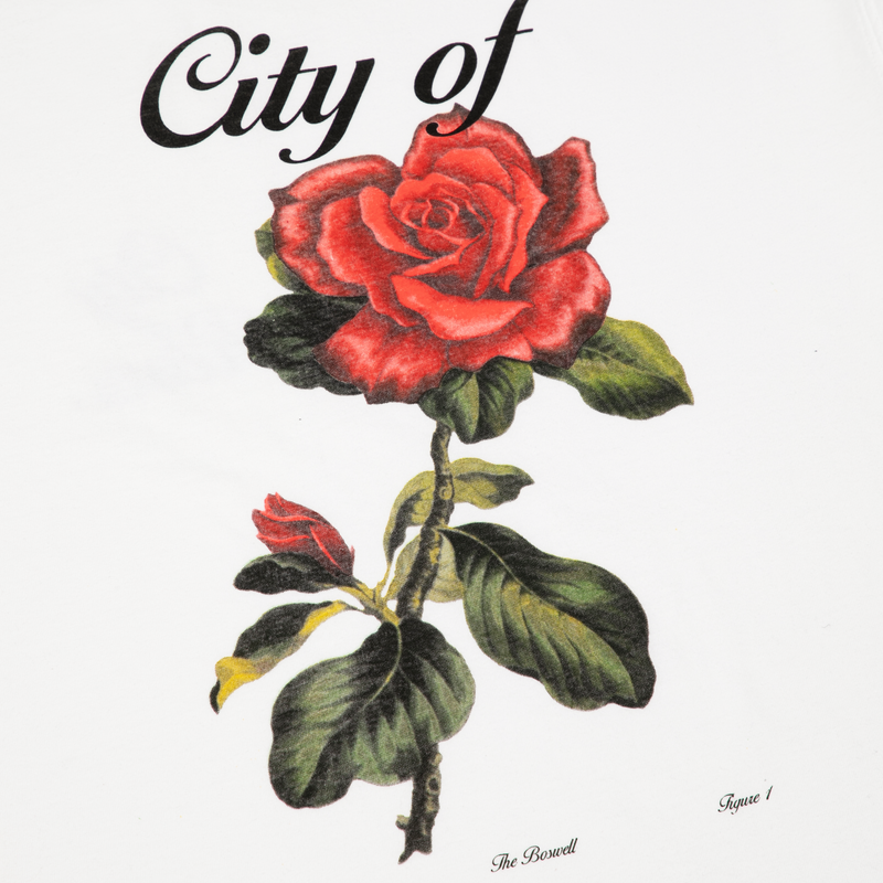 TEE - CITY OF ROSES | WHITE