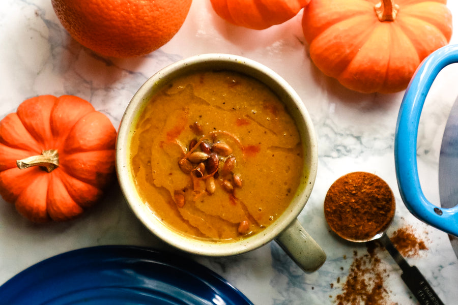 Curried Coconut Pumpkin Soup