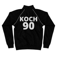 Piped Fleece Jacket, #90, KOCH