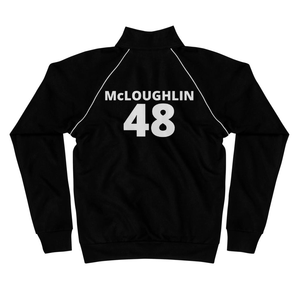 Piped Fleece Jacket, #48, McLOUGHLIN