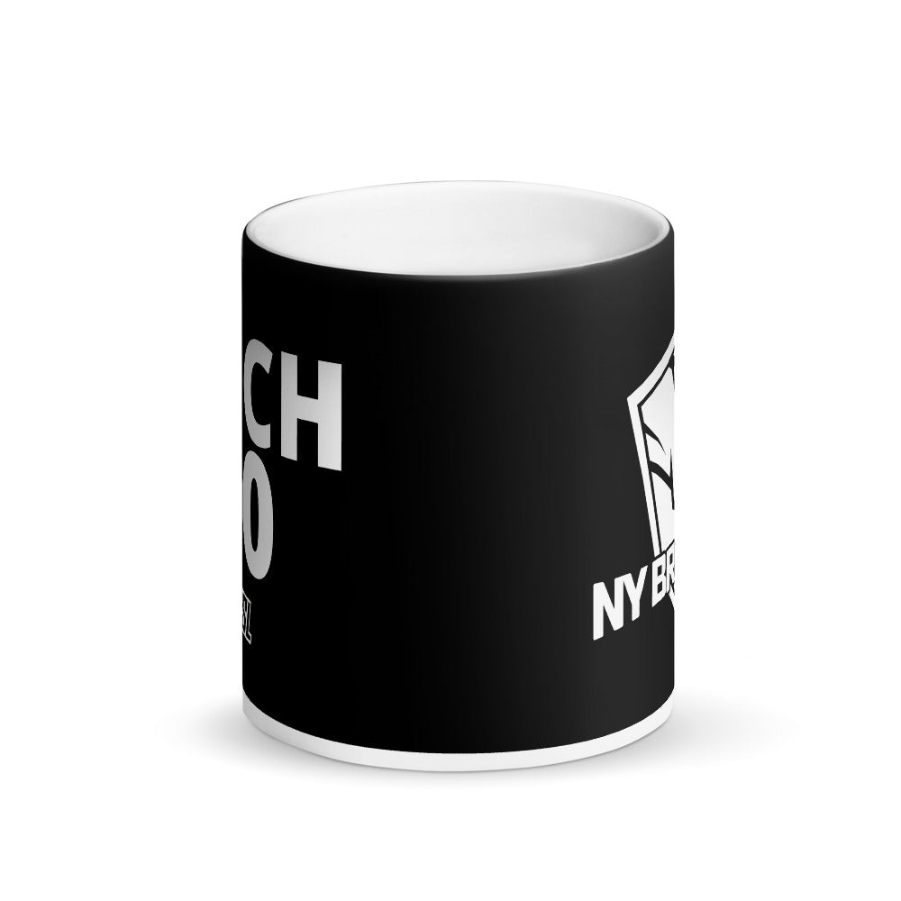 Matte Black Magic Mug, #90, KOCH
