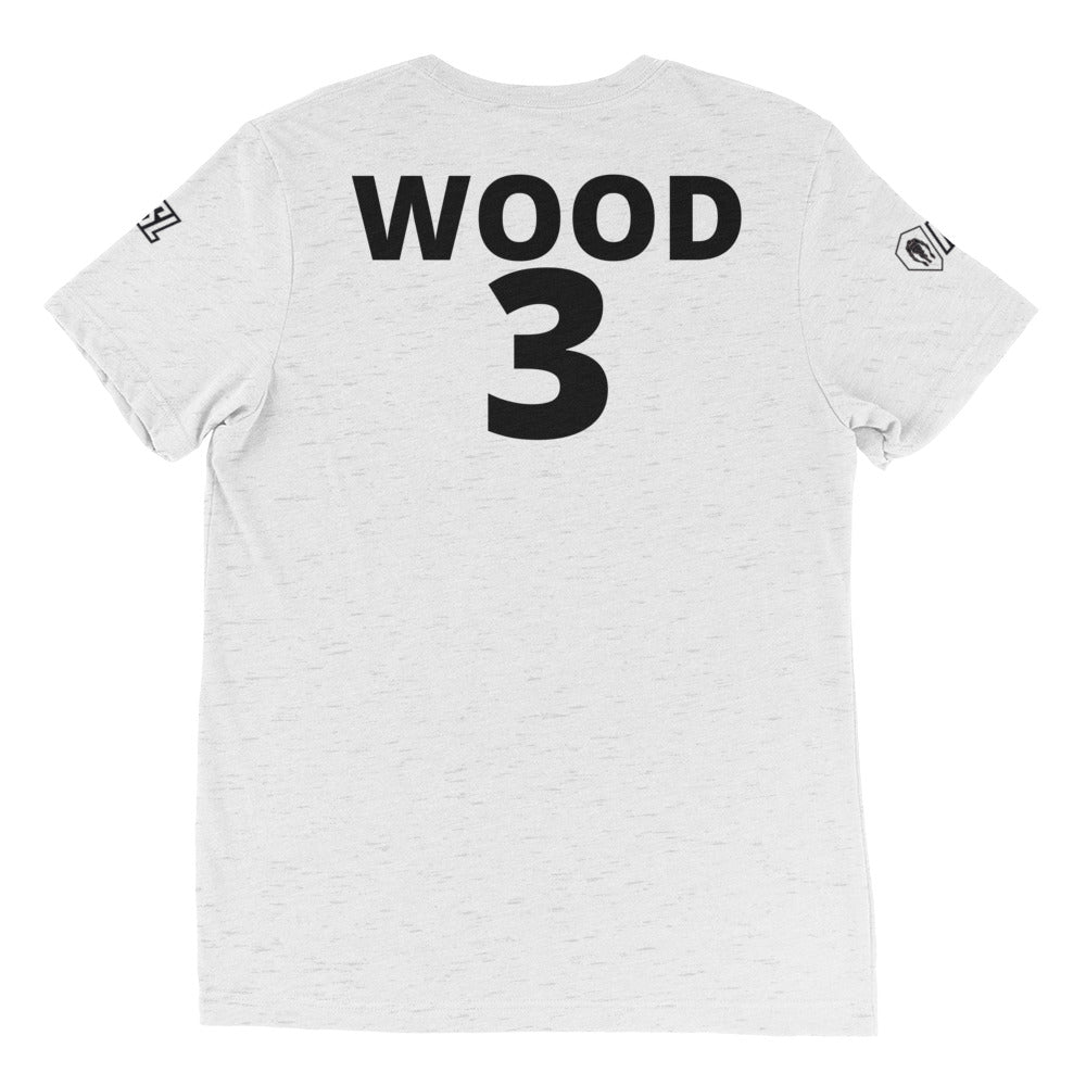 Short sleeve t-shirt, #3, WOOD