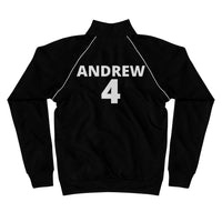 Piped Fleece Jacket, #4 ANDREW