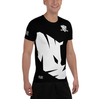 All-Over Print Men's Athletic T-shirt - #13, ESCOBEDO
