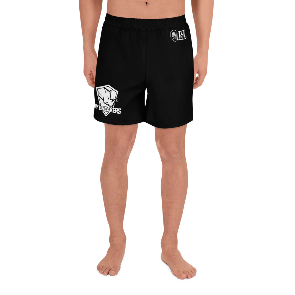 Men's Athletic Long Shorts, #73, CREID