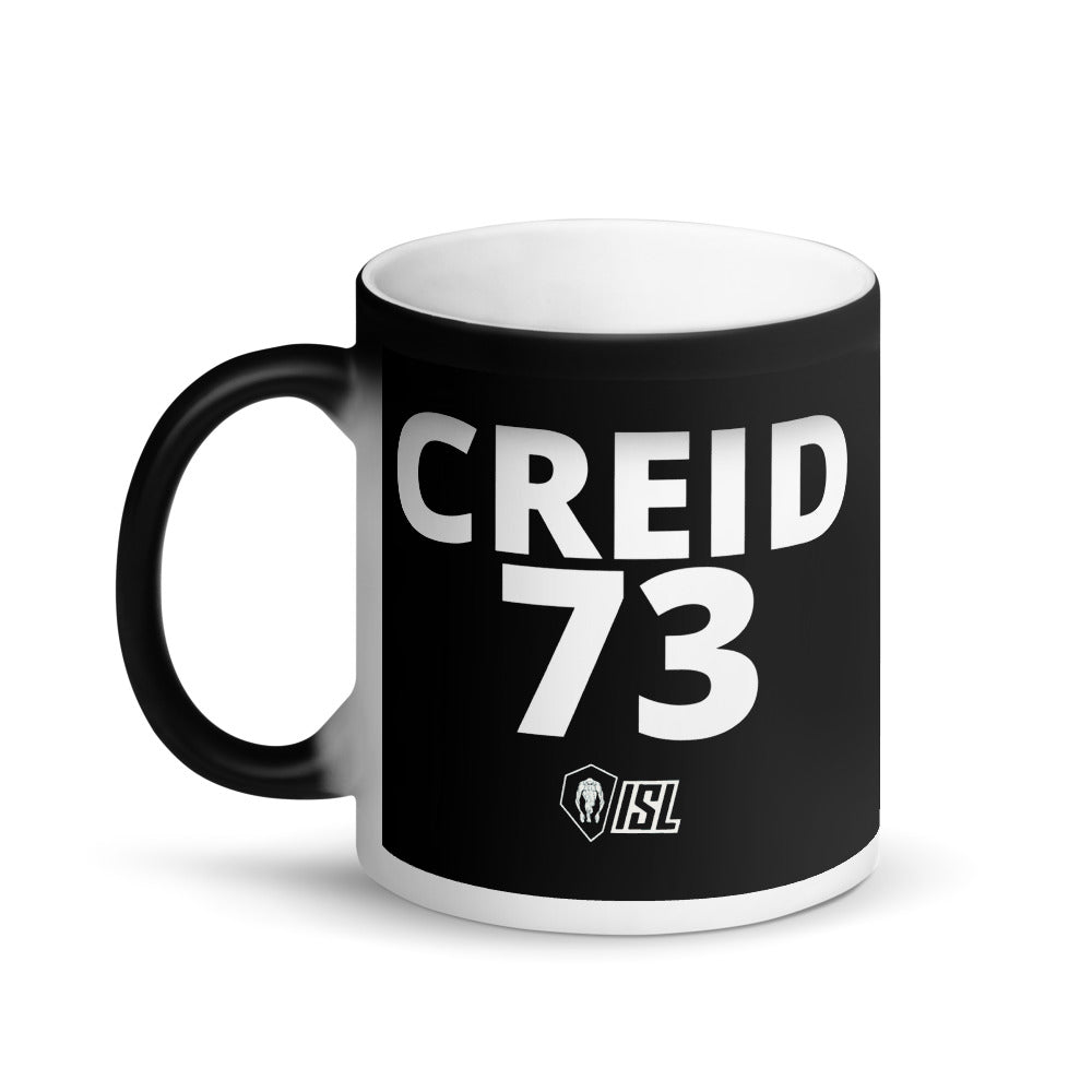 Matte Black Magic Mug, #73, CREID