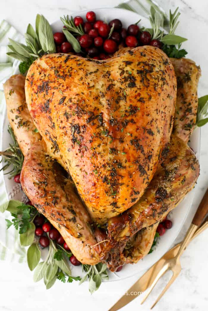 Perfect Roast Turkey (step-by-step)