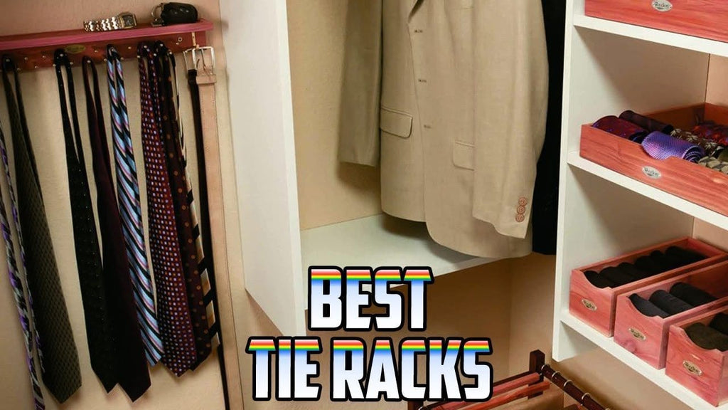10 Best Tie Racks 2019 | Tie Rack Review Updated Ranking