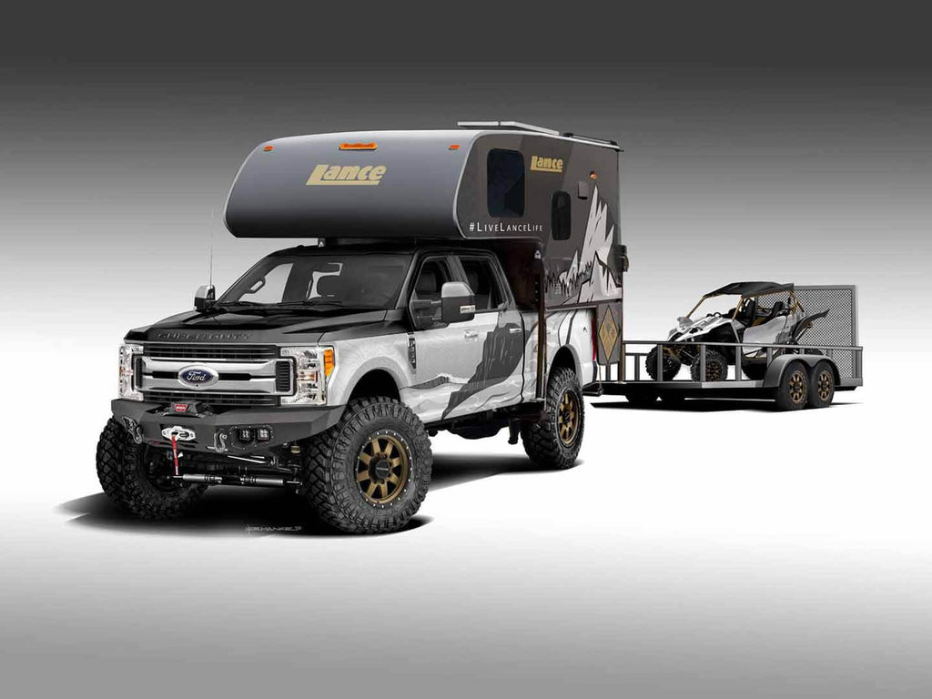 Lance's latest vehicle project aims to highlight the versatility, capability, and all-season comforts of truck campers