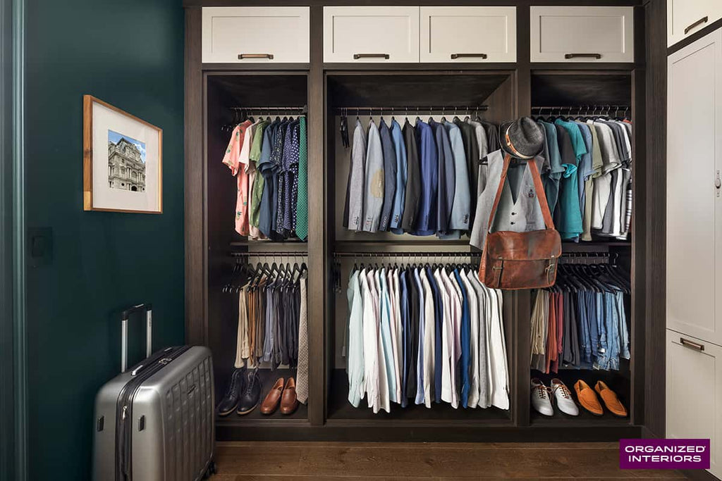 Men's Closet Design: How to Create the Ultimate Closet for Him