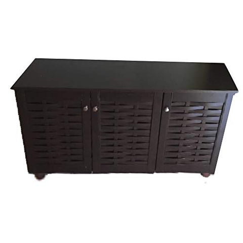 17 Pair Shoe Storage Cabinet XL Large Bench Entrance Organizer Footwear Closet Accent Heavy Duty Mid-Century Rustic Patio & ebook