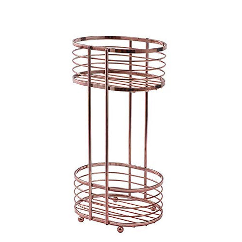 HSRG 2-Tier Standing Kitchen Rack, Storage Organizer Spice Jars Bottle Shelf for Bathroom livingroom