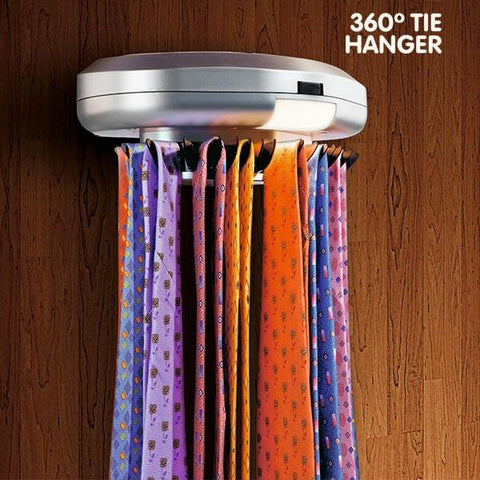 360º Hanger Electric Tie Rack