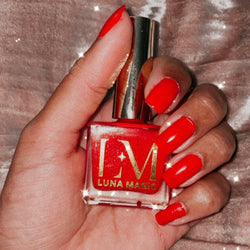 100% VEGAN NAIL POLISH, RED LOVE