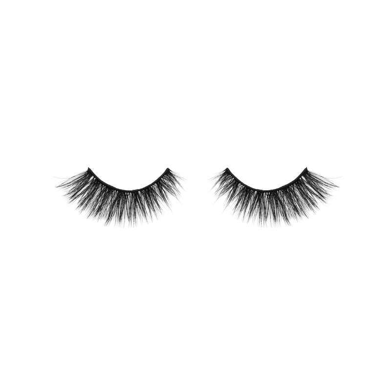 HAPPY EX, 100% FAUX MINK LASHES, 2 PAIRS