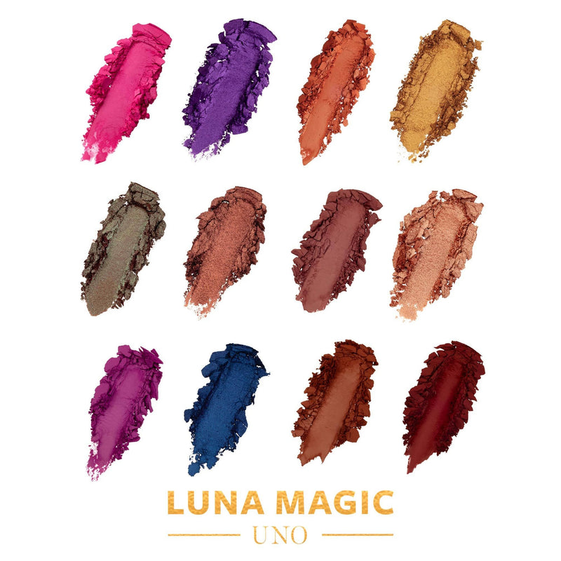 BESTSELLER: Eyeshadow Makeup Palette, 12 Colors - LUNA MAGIC BEAUTY