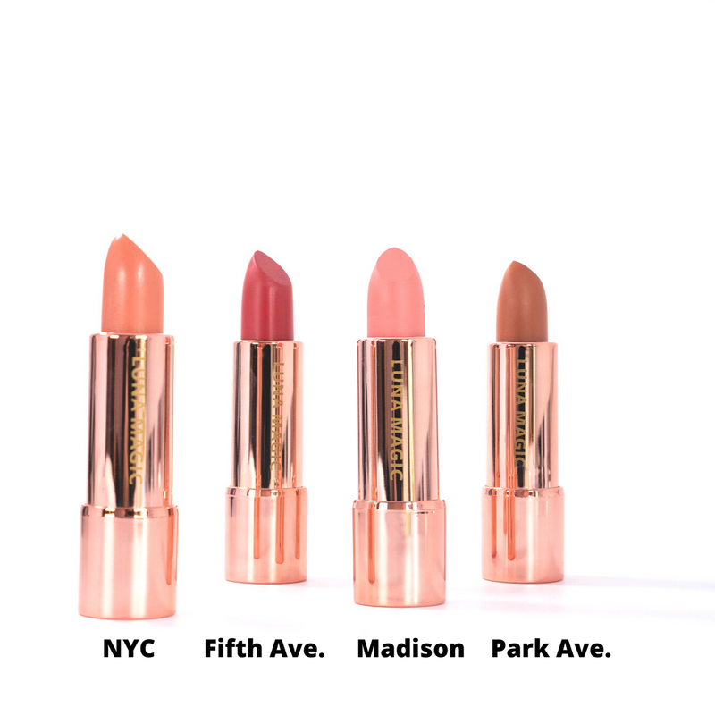 NUDE COLLECTION BULLET LIPSTICK, 4 COLORS AVAILABLE