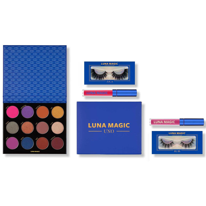 NEW: UNO Makeup Collection, 5 Pcs - LUNA MAGIC BEAUTY