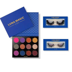 EYES & MINK LASH QUEEN SET, 3 Pcs - LUNA MAGIC BEAUTY